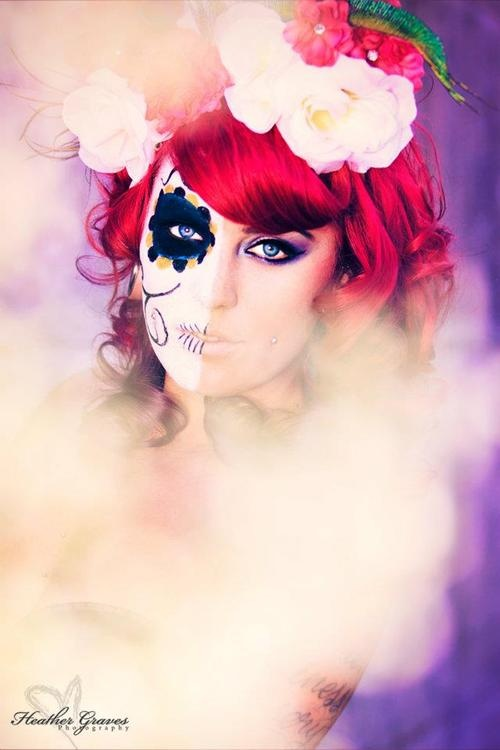 5 DIY Sugar Skull Makeup Tutorials For Halloween pics