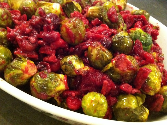 Cranberry Balsamic Brussel Sprouts | Low Carb Veggie Dishes | Pintere ...