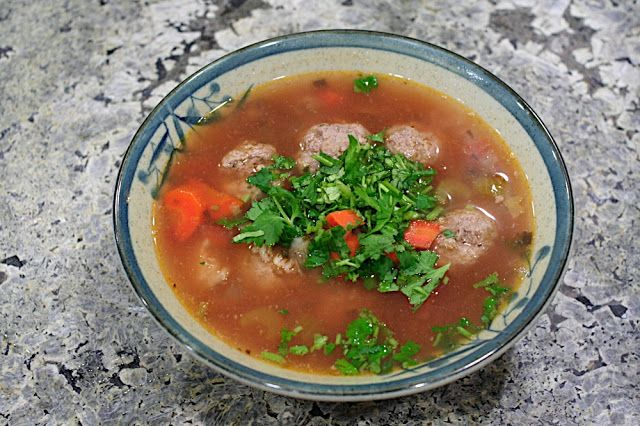 Albondigas Soup | Recipes to try | Pinterest