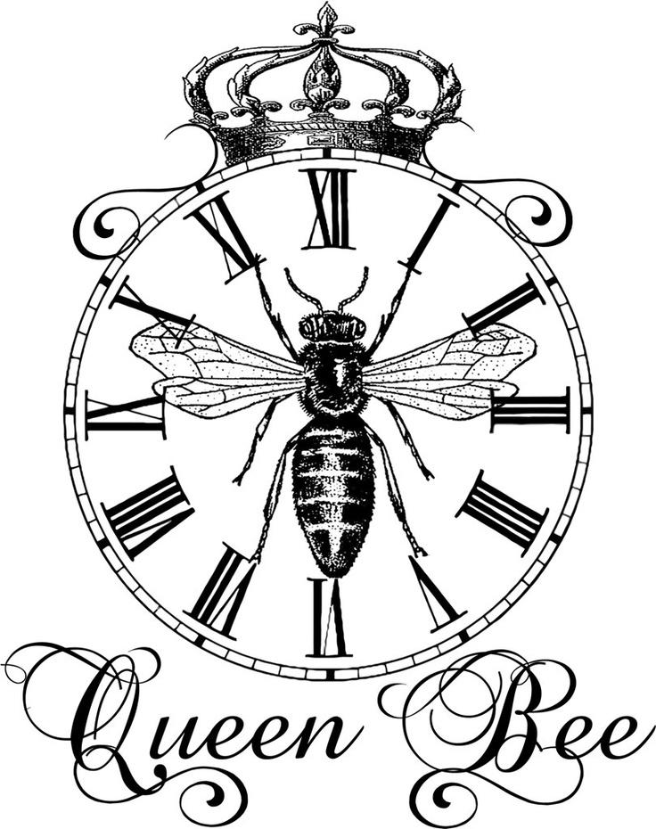 queen bee drawing - photo #11