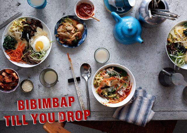 Bibimbap party in the near future. YUM! How to Throw a Korean Bibimbap ...