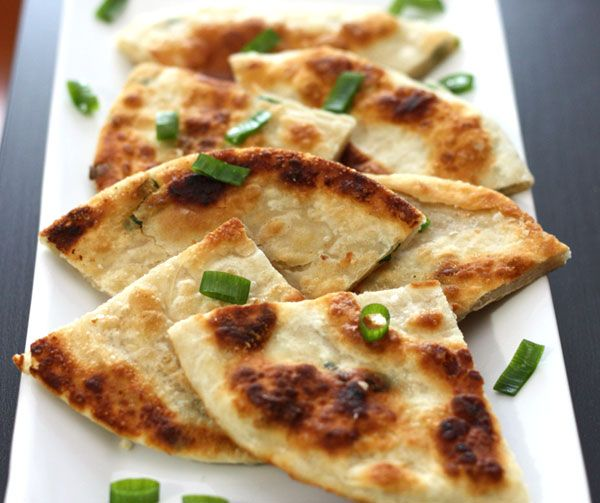 Scallion pancakes [葱油饼] | Recipe