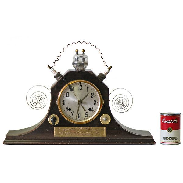 5265a steampunk mantle clock steampunk for the home pinterest - Steampunk mantle clock ...