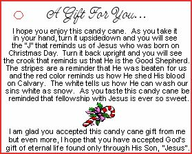 Story of the candy cane printable search results calendar 2015