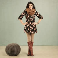 skirt, dress, scarf, boots = my uniform for fall