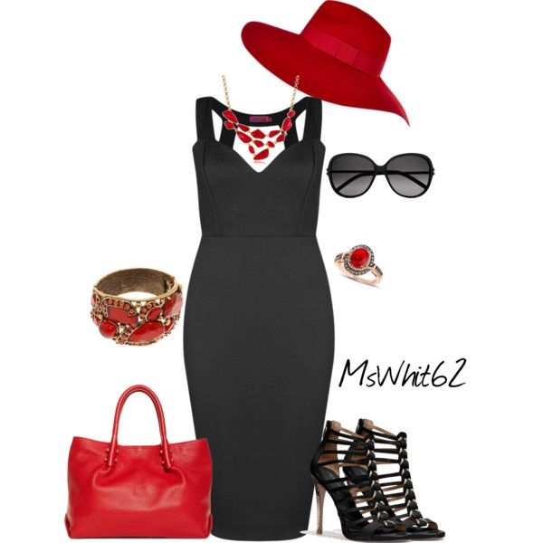 """Fedora Hat"" by mswhit62 on Polyvore"