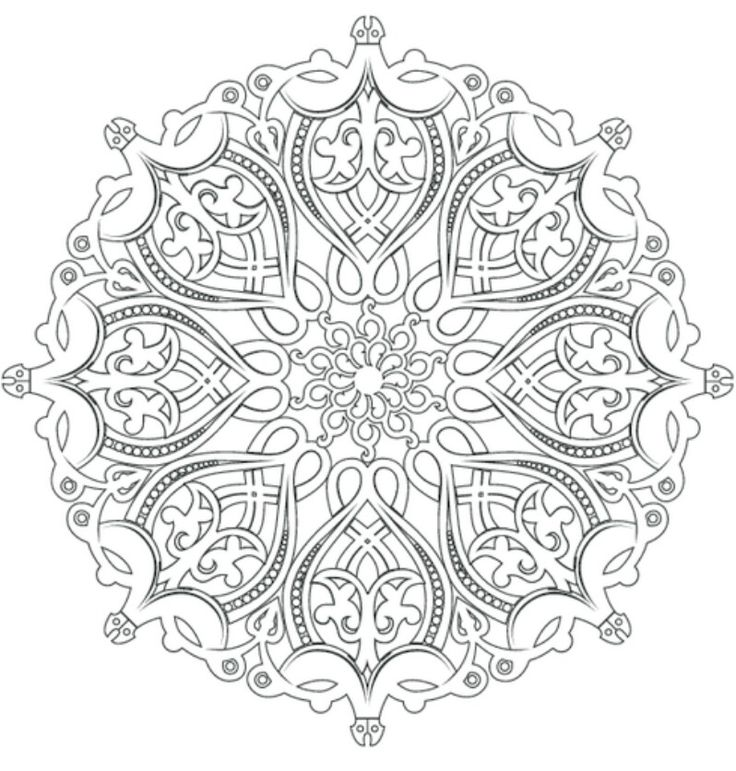 black and white pictures of intricate art to color - Google Search - copy make your own coloring pages online