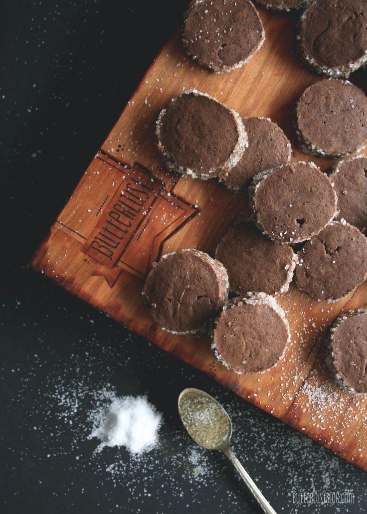 Salt & Pepper Hot Cocoa Shortbread Cookies   Butterlust Blog Look at ...
