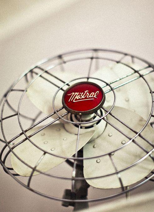 vintage fan.