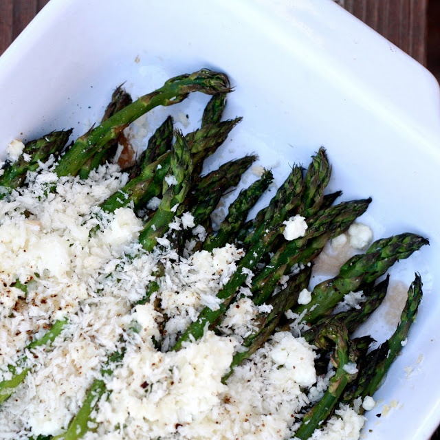 Asparagus goat cheese gratin.....need to find a low carb ...