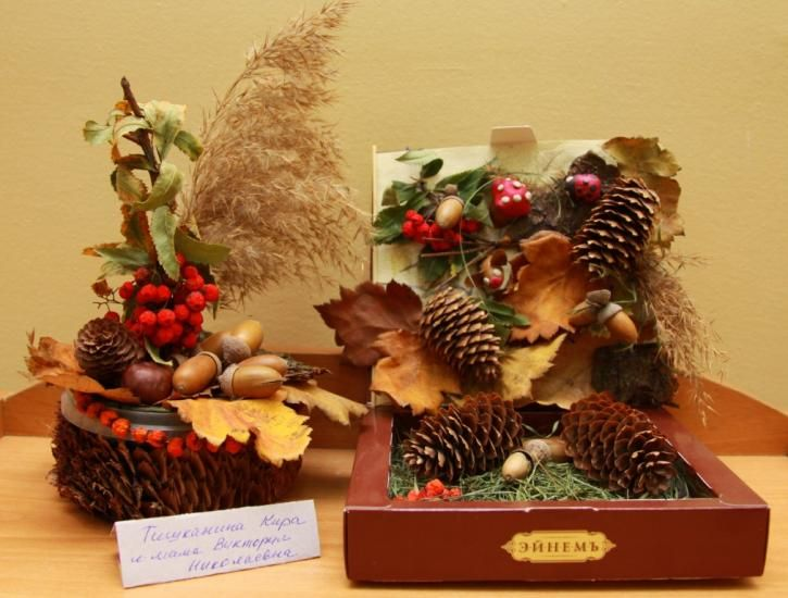 Осенние поделки своими руками для школы из овощей и фруктов