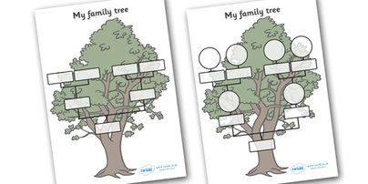 My Family Tree templates