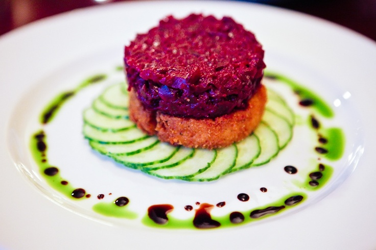 beet tartare with dijon and capers recipe on food52 beet tartare beet ...