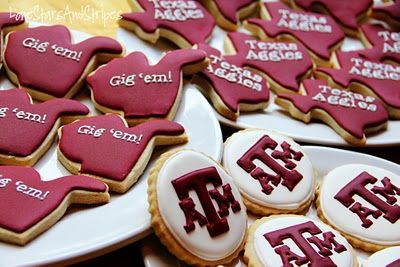 Aggie cookies!