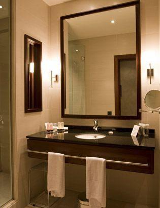 Vanity Towel Bar Bathroom Renovation Pinterest