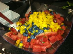 Blueberry Watermelon Salsa   Recipes I Plan to Try   Pinterest