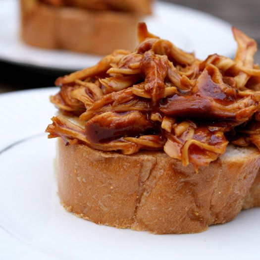 Crock Pot Shredded Barbecue Chicken | POULTRY | Pinterest