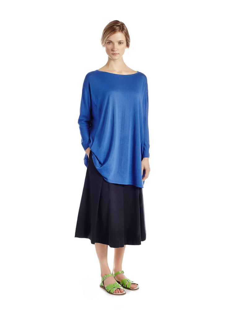 jumper and midi skirt combo my style