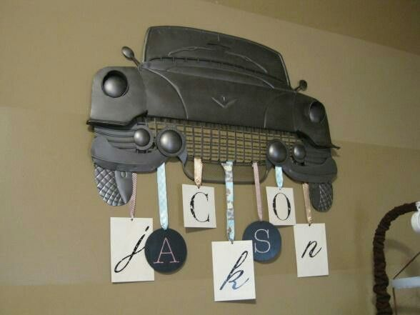 Vintage Auto Wall Decor : Classic car wall decor babies