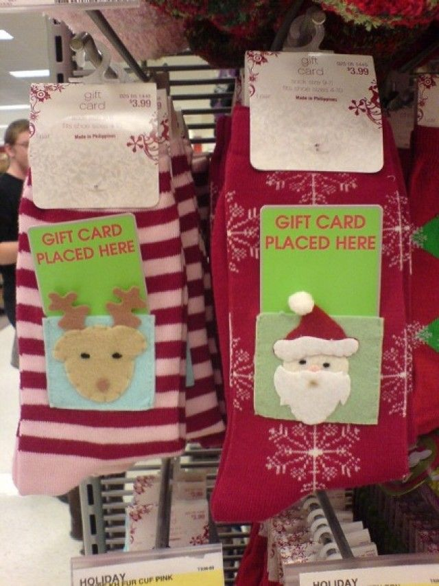 Creative Ways To Wrap Gift Cards Christmas Pinterest