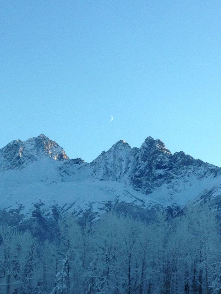 Chugach Mountains Indian Ak