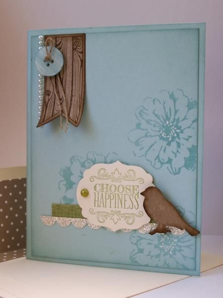 Choose Happiness (SUO) by ReginaBD - Cards and Paper Crafts at Splitcoaststampers
