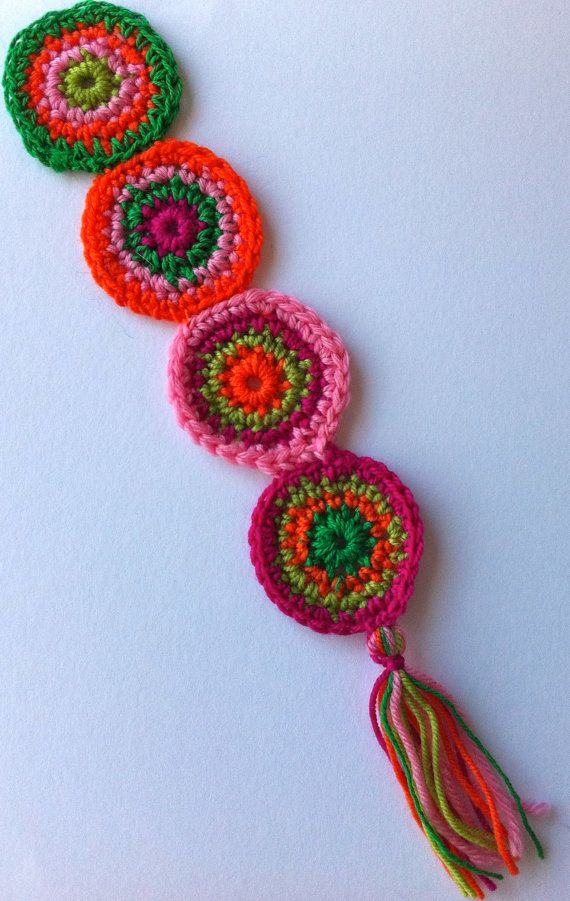 Crochet Bookmarks : crochet bookmarks crochet bookmark spicy hot circles by ...
