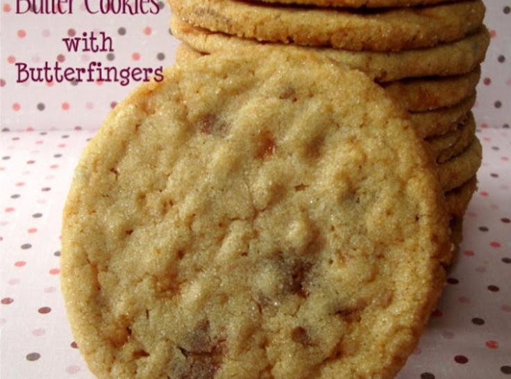 Peanut Butterfinger Cookies | cookies | Pinterest