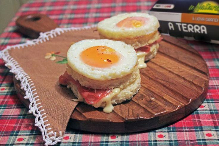 Mini croque madame. - Chiara Maci | food | Pinterest