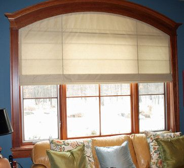 Arched Window Roman Blind Inspiration For Treatments Pinte