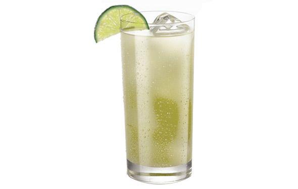 Gin Rickey INGREDIENTS: 2 oz gin ½ oz lime juice 2 oz club soda ...