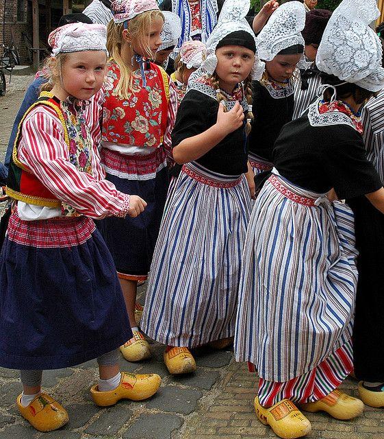 dutch traditional costume children around the world