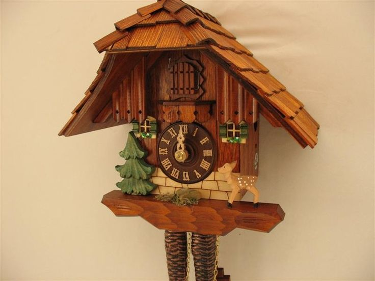 - Black Forest Cuckoo Clock | Bambi | Chimney Sweep | Video | Model ...