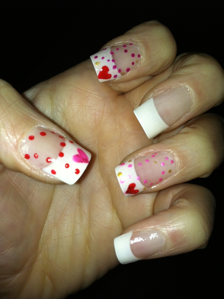 valentines day designs for nails