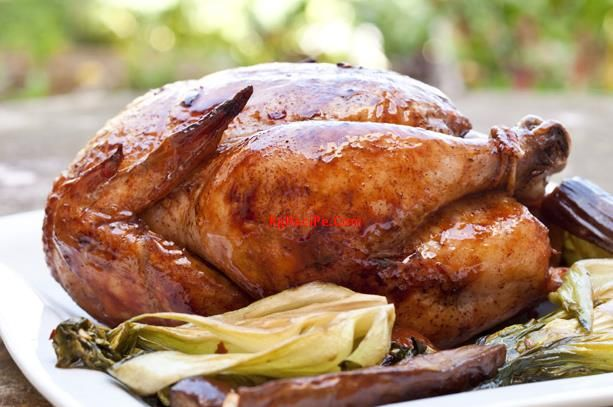Roast Sticky Chicken in Rotisserie Style | Recipes to try | Pinterest