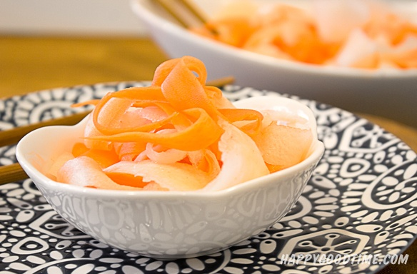 pickled daikon and carrot | Yummy | Pinterest