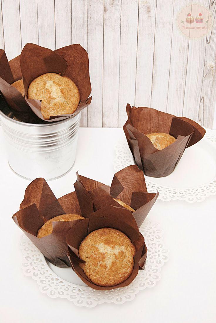 muffin alla vaniglia / vanilla muffins recipe