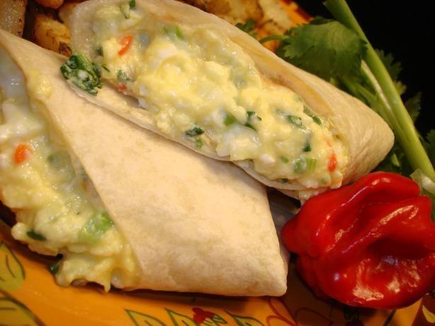 Scrambled Egg Tortilla Wraps Aust Ww 5.5 Pts   Recipe