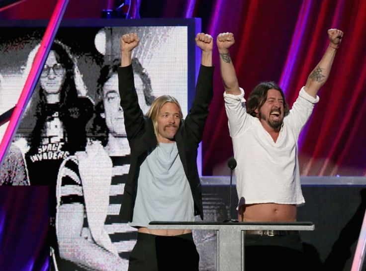 Taylor Hawkins And Dave Grohl | GRAMMY.com