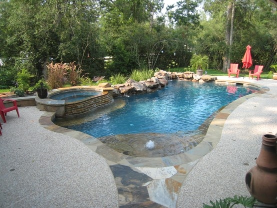 backyard vacation custom swimming pools pinterest