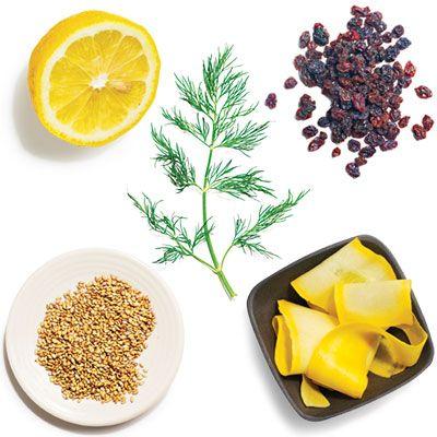 Fresh & Dill-icious Quinoa   1 tablespoon fresh lemon juice + 2 ...