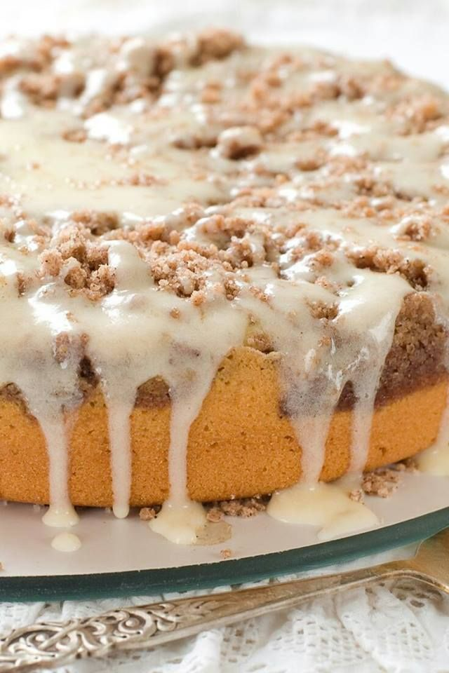 Sour Cream Coffee Cake | Brekkie, brekkie | Pinterest