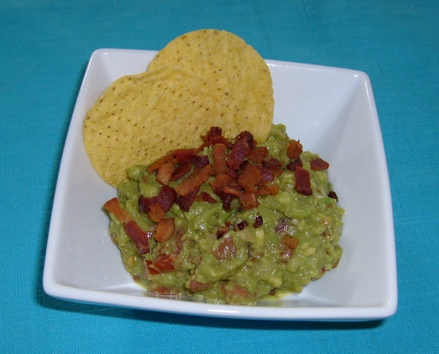 Bacon and Tomato Guacamole | IIIIIIIIIIIIIIIIT'S BACON! | Pinterest