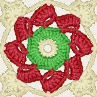 Irish Rose Afghan Square - Ravelry - a knit and crochet