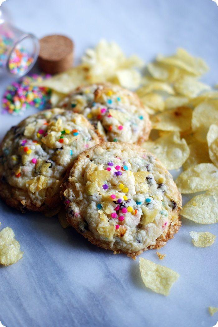 Potato Chip Cookies | The Cookie Jar | Pinterest
