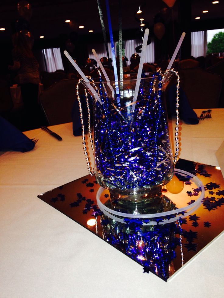 My cheer banquet centerpieces end of year party pinterest