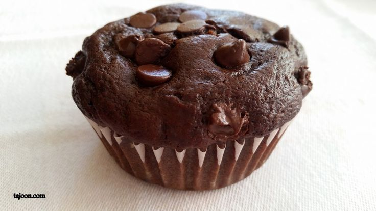 Double Chocolate Chip Muffins | Breads, Rolls, Biscuits | Pinterest