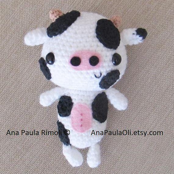 Amigurumi Cow crochet pattern