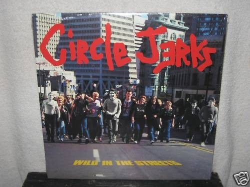 Circle Jerks Golden Shower Of Hits Jerks On 45