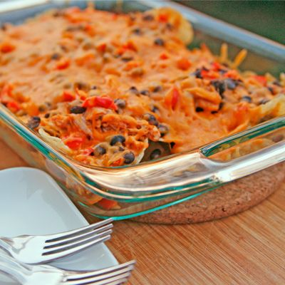 Shredded Chicken and Black Bean Nachos — Perfect for those dry, fall ...